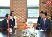 [경북도청]베트남 하우장성장 경북도 방문... 다양한 분야 협력 기대