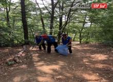 [상주]바르게살기 낙동면 위원회 나각산 환경정화활동