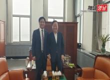[상주]국회 예결위원장 방문 등 국비 확보 총력 행보