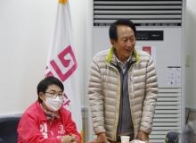 [상주]김종태 전 국회의원, 미래통합당 임이자 후보 지지선언